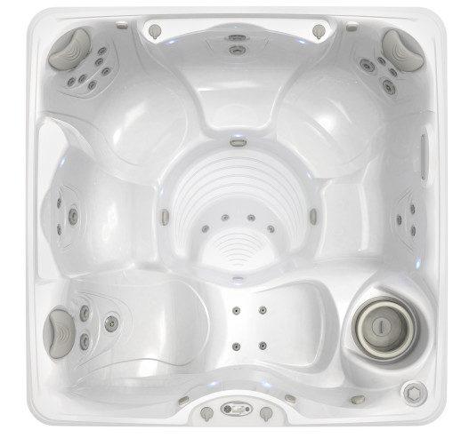 marino hot tub overhead